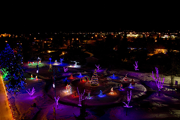 2014 Blackfalds Lighting Contest Highlights