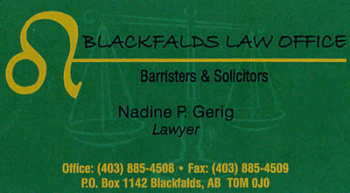 Blackfalds Law Office